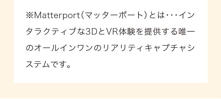 マーターポートとはVRの説明